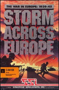 Storm Across Europe per Commodore 64