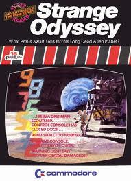 Strange Odyssey per Commodore 64