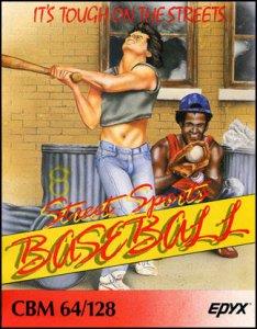 Street Sports Baseball per Commodore 64