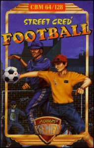Street Cred Football per Commodore 64