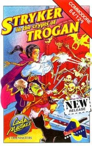 Stryker in the Crypts of Trogan per Commodore 64