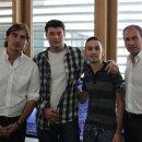 PES 2012 - La presentazione con Marchegiani e Pardo
