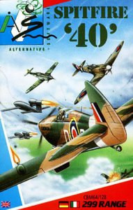 Spitfire '40 per Commodore 64