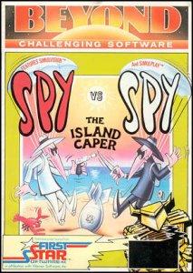 Spy vs Spy: The Island Caper per Commodore 64