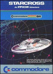Starcross per Commodore 64