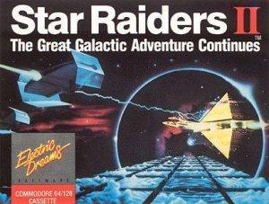 Star Raiders II per Commodore 64