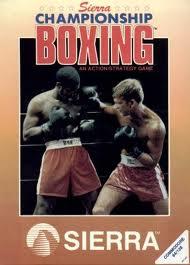 Sierra Championship Boxing per Commodore 64