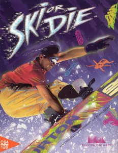 Ski or Die per Commodore 64