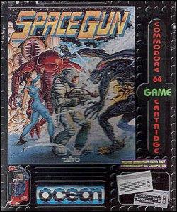 Space Gun per Commodore 64