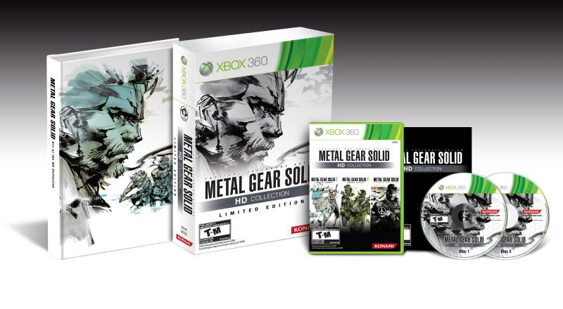 Una Limited Edition per Metal Gear Solid HD Collection