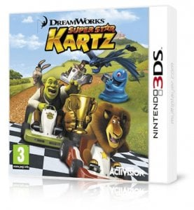 DreamWorks Super Star Kartz 3ds