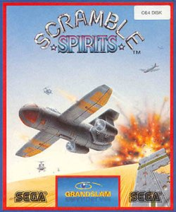 Scramble Spirits per Commodore 64