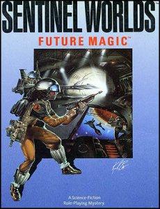 Sentinel Worlds I: Future Magic per Commodore 64