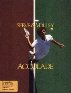 Serve and Volley per Commodore 64
