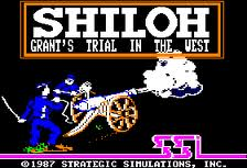 Shiloh: Grant's Trial in the West per Commodore 64