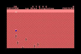 Siege per Commodore 64