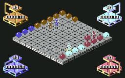 The Ball Game per Commodore 64
