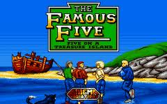 The Famous Five: Five on a Treasure Island per Commodore 64