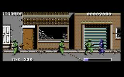 The Ninja Warriors per Commodore 64