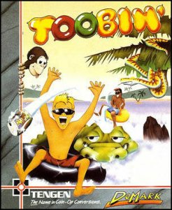 Toobin' per Commodore 64