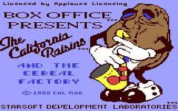 The California Raisins per Commodore 64