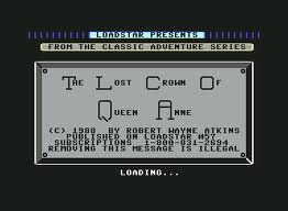 The Lost Crown of Queen Anne per Commodore 64