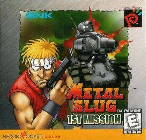 Metal Slug: 1st Mission per Neo Geo Pocket