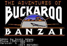 The Adventures of Buckaroo Banzai Across the Eighth Dimension per Commodore 64