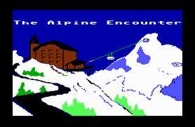 The Alpine Encounter per Commodore 64