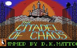 The Citadel of Chaos per Commodore 64