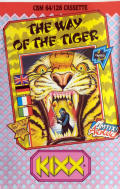 The Way of the Tiger per Commodore 64