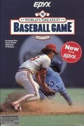 The World's Greatest Baseball Game per Commodore 64