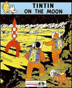 Tintin on the Moon per Commodore 64