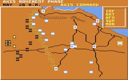 Tobruk 1942 per Commodore 64