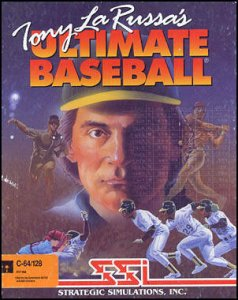 Tony La Russa's Ultimate Baseball per Commodore 64