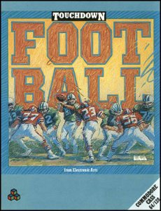 Touchdown Football per Commodore 64