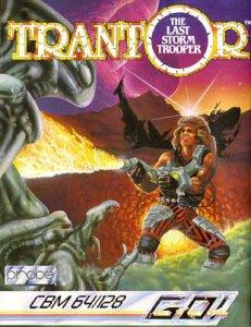 Trantor the Last Storm Trooper per Commodore 64