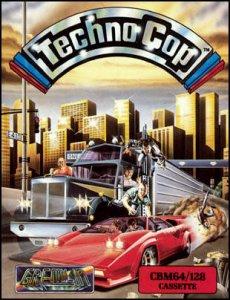 Techno Cop per Commodore 64