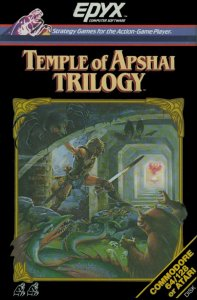 Temple of Apshai Trilogy per Commodore 64