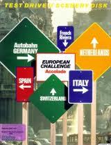 Test Drive II Scenery Disk: European Challenge per Commodore 64