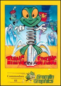 Thing on a Spring per Commodore 64