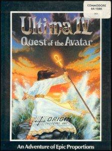 Ultima IV: Quest of the Avatar per Commodore 64
