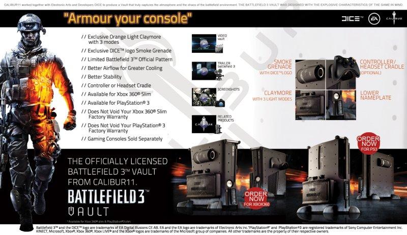 Battlefield 3 - Un'armatura per 360 e PS3