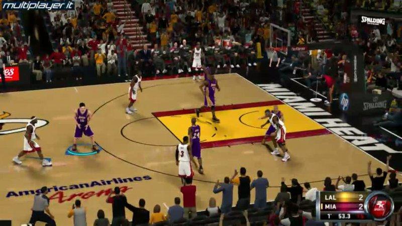 [GamesWeek] NBA 2k12 protagonista dello stand Cidiverte