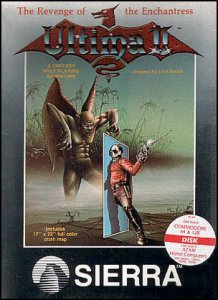 Ultima II: Revenge of the Enchantress per Commodore 64