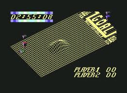 Vectorball per Commodore 64
