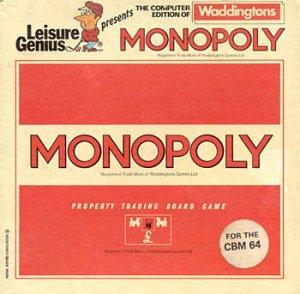 Waddingtons Monopoly per Commodore 64