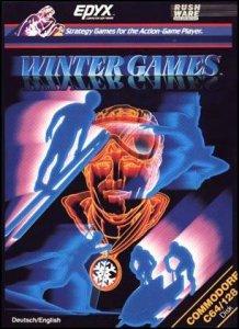 Winter Games per Commodore 64