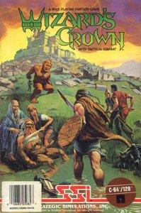 Wizard's Crown per Commodore 64