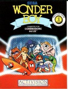 Wonder Boy per Commodore 64
